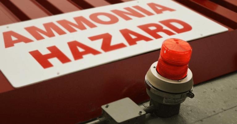 Вопрос безопасности аммиачных холодильных систем в пищевой промышленности и производстве напитков